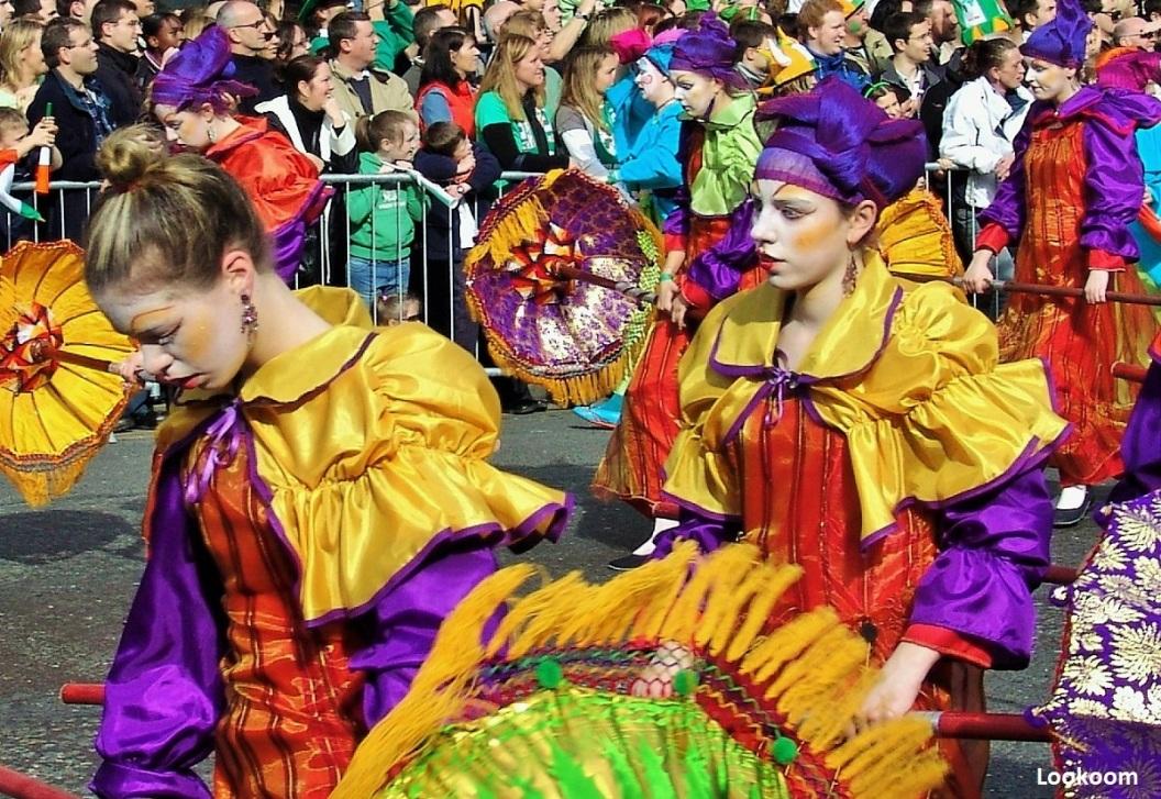 Parade de la Saint Patrick à Dublin, Irlande