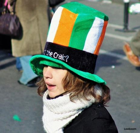 La Saint Patrick à Dublin, Irlande