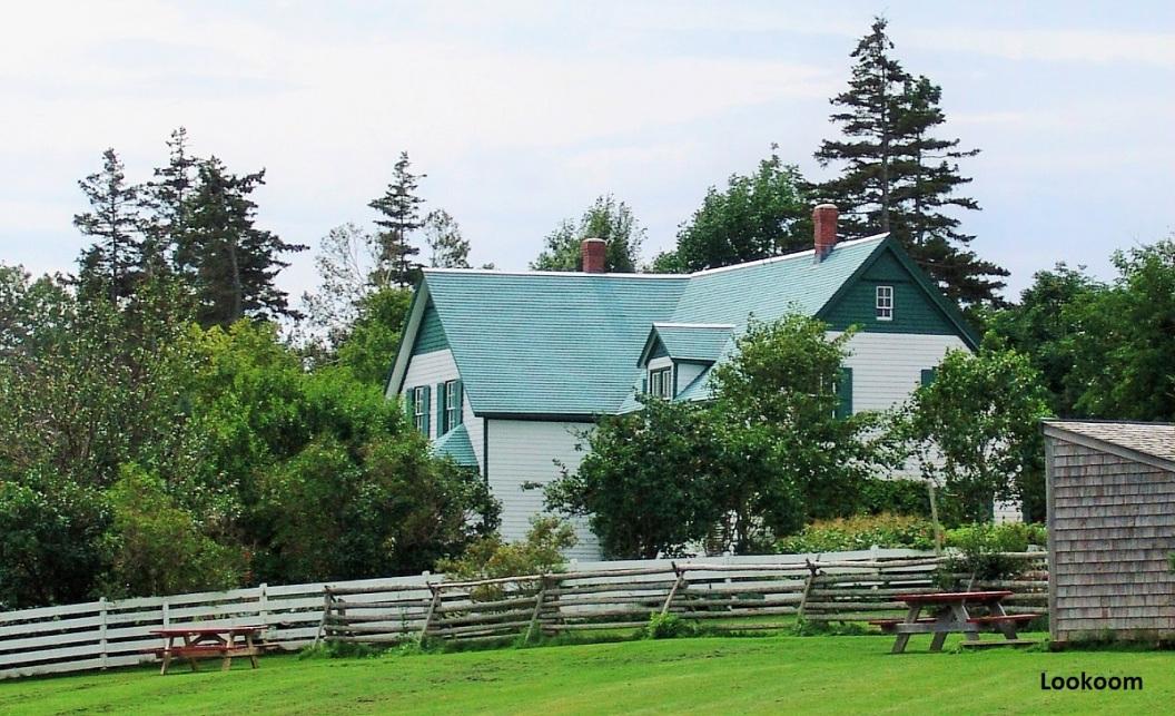 La maison aux pignons verts, Ile du Prince Edouard, Canada