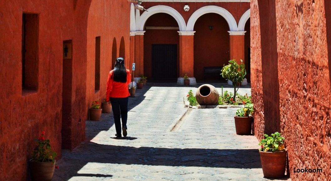 Guide au Couvent Santa Catalina, Arequipa, Pérou