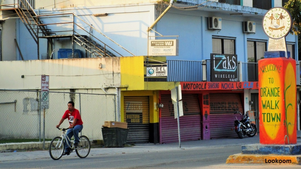 Welcome to Orange Walk Town, Belize