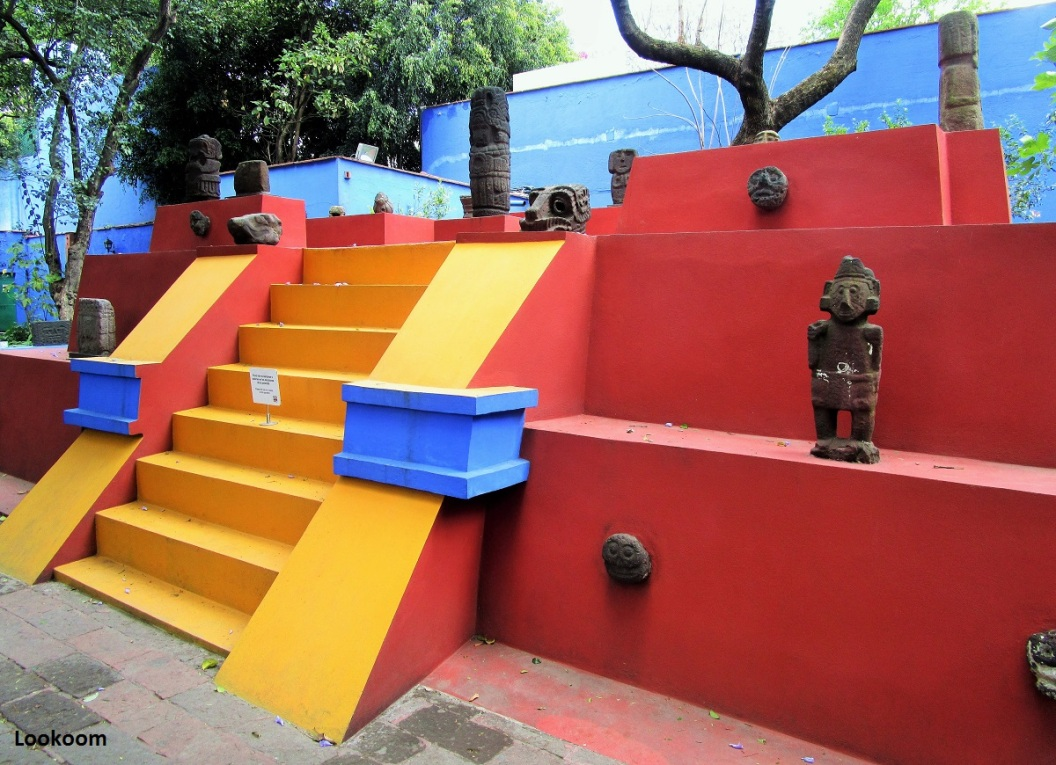 La maison de Frida Kahlo, Mexico