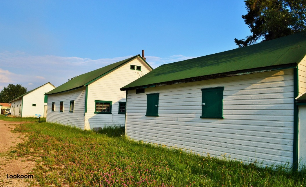 Mission catholique, Fort Smith, Canada