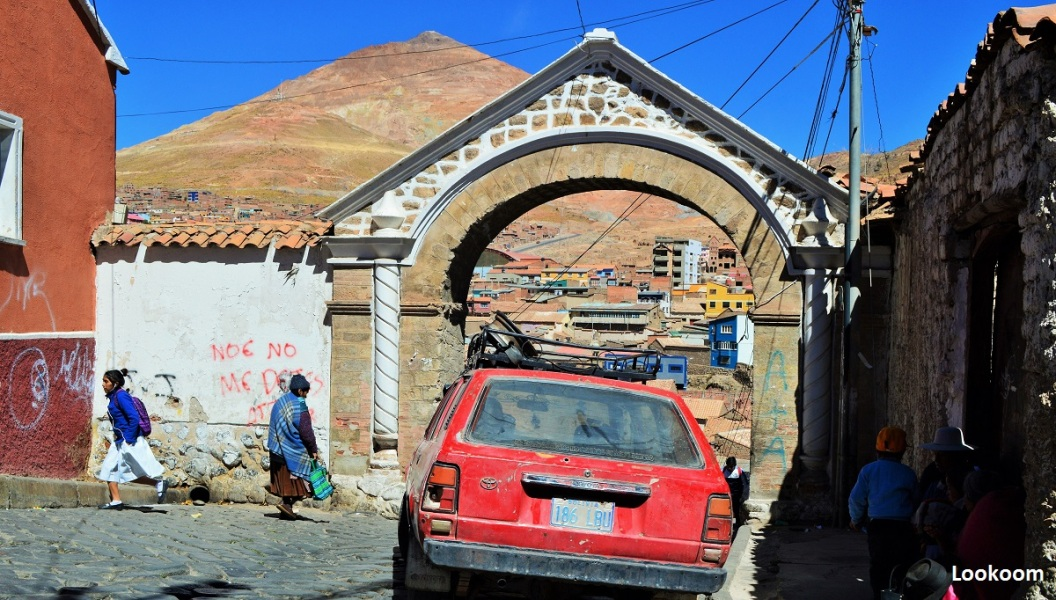 Porte de la Vieille ville, Potosi, Bolivie
