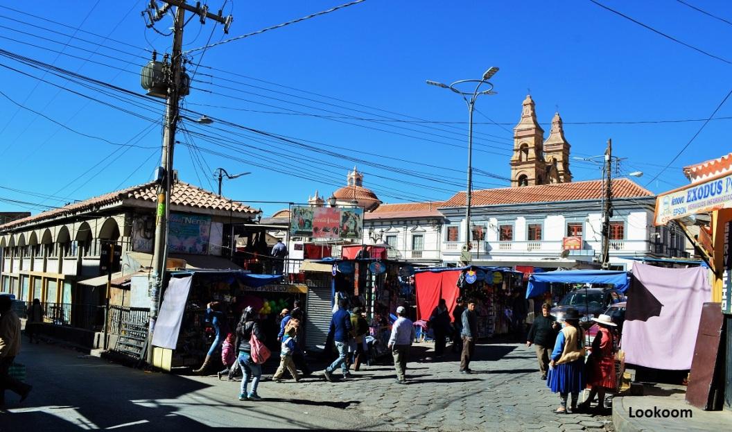 Marché de Potosi, Bolivie