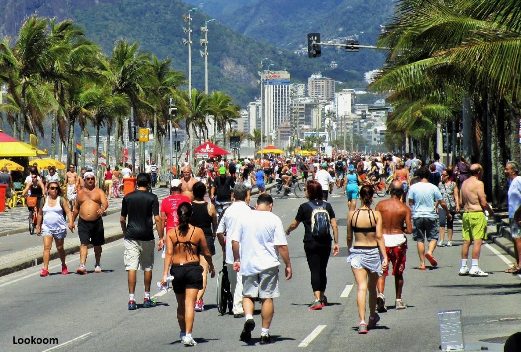 Ipanema le dimanche, Brésil
